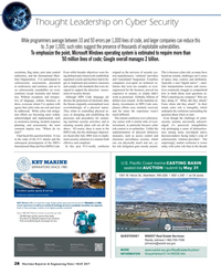Maritime Reporter Magazine, page 28,  May 2017
