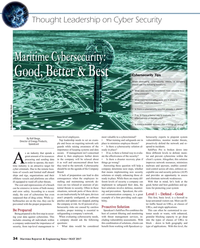 Maritime Reporter Magazine, page 34,  May 2017