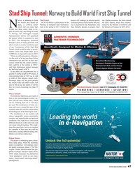 Maritime Reporter Magazine, page 47,  May 2017