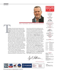 Maritime Reporter Magazine, page 6,  May 2017