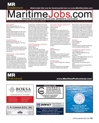 Maritime Reporter Magazine, page 91,  May 2017