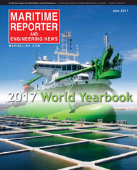 Maritime Reporter Magazine Cover Jun 2017 - The Annual World Yearbook
