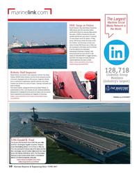 Maritime Reporter Magazine, page 10,  Jun 2017