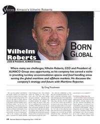 Maritime Reporter Magazine, page 18,  Jun 2017