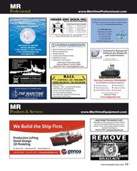 Maritime Reporter Magazine, page 77,  Jun 2017