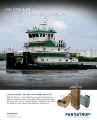 Maritime Reporter Magazine, page 4th Cover,  Jun 2017
