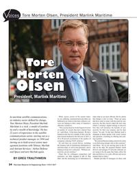 Maritime Reporter Magazine, page 24,  Jul 2017
