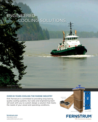 Maritime Reporter Magazine, page 4th Cover,  Aug 2017