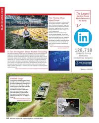 Maritime Reporter Magazine, page 10,  Aug 2017