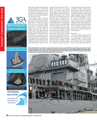 Maritime Reporter Magazine, page 28,  Aug 2017