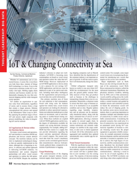 Maritime Reporter Magazine, page 32,  Aug 2017