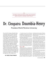 Maritime Reporter Magazine, page 35,  Aug 2017