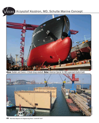 Maritime Reporter Magazine, page 40,  Aug 2017