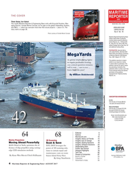 Maritime Reporter Magazine, page 4,  Aug 2017