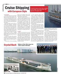 Maritime Reporter Magazine, page 80,  Aug 2017