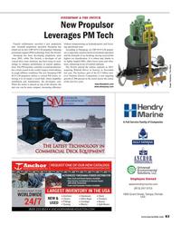 Maritime Reporter Magazine, page 83,  Aug 2017