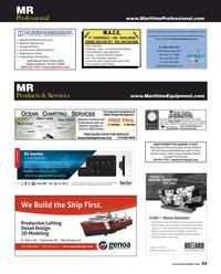 Maritime Reporter Magazine, page 93,  Aug 2017