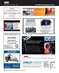 Maritime Reporter Magazine, page 94,  Aug 2017