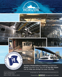 Maritime Reporter Magazine, page 3rd Cover,  Aug 2017