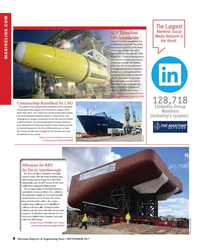 Maritime Reporter Magazine, page 8,  Sep 2017