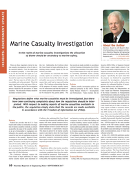 Maritime Reporter Magazine, page 10,  Sep 2017