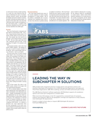 Maritime Reporter Magazine, page 11,  Sep 2017