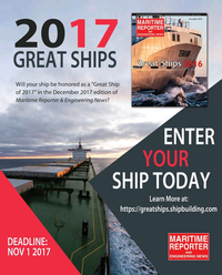 Maritime Reporter Magazine, page 37,  Sep 2017