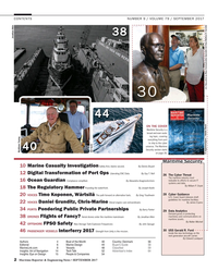 Maritime Reporter Magazine, page 2,  Sep 2017