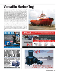 Maritime Reporter Magazine, page 49,  Sep 2017