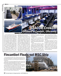 Maritime Reporter Magazine, page 50,  Sep 2017