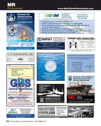 Maritime Reporter Magazine, page 60,  Sep 2017