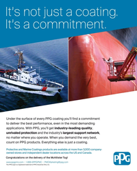 Maritime Reporter Magazine, page 3rd Cover,  Sep 2017