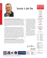 Maritime Reporter Magazine, page 6,  Sep 2017