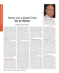 Maritime Reporter Magazine, page 12,  Oct 2017