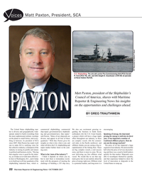 Maritime Reporter Magazine, page 22,  Oct 2017