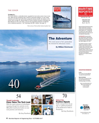 Maritime Reporter Magazine, page 4,  Oct 2017