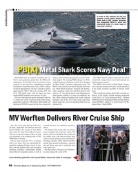 Maritime Reporter Magazine, page 66,  Oct 2017
