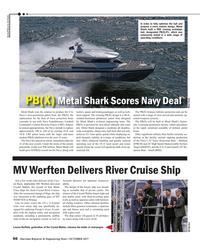 Maritime Reporter Magazine, page 66,  Oct 2017