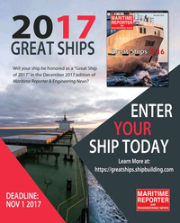 Maritime Reporter Magazine, page 68,  Oct 2017