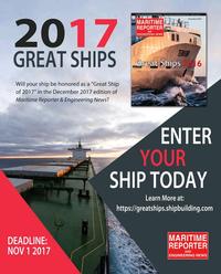Maritime Reporter Magazine, page 68,  Oct 2017
