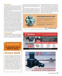 Maritime Reporter Magazine, page 73,  Oct 2017