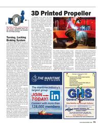 Maritime Reporter Magazine, page 75,  Oct 2017