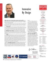 Maritime Reporter Magazine, page 6,  Oct 2017