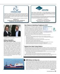 Maritime Reporter Magazine, page 81,  Oct 2017