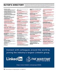 Maritime Reporter Magazine, page 90,  Oct 2017