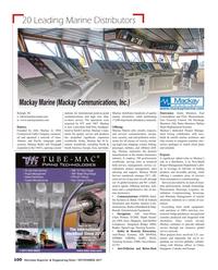Maritime Reporter Magazine, page 100,  Nov 2017