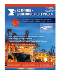 Maritime Reporter Magazine, page 3rd Cover,  Nov 2017