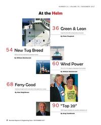 Maritime Reporter Magazine, page 2,  Nov 2017
