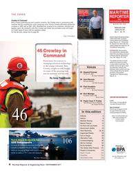 Maritime Reporter Magazine, page 4,  Nov 2017