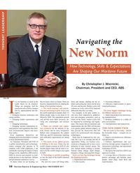Maritime Reporter Magazine, page 16,  Dec 2017